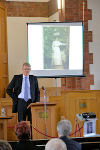 Cabinet Member for Heritage Richard Blunt talks about Alice Young