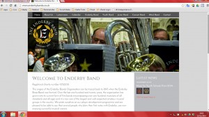 band website mini