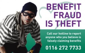 Benefit Fraud graphic