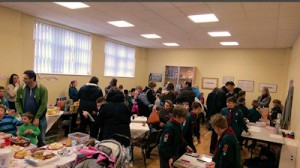 Photo: Stalls in the hall