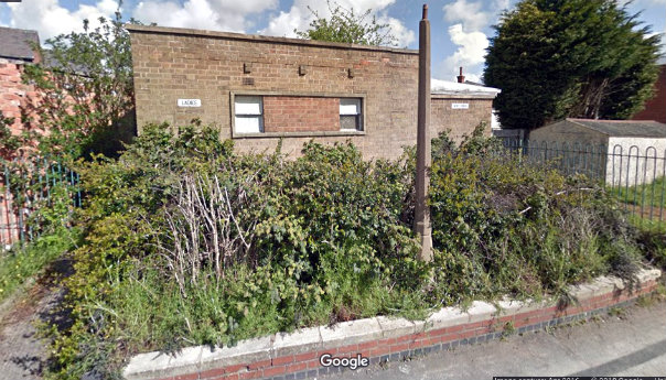 Old Townsend Road Toilets site