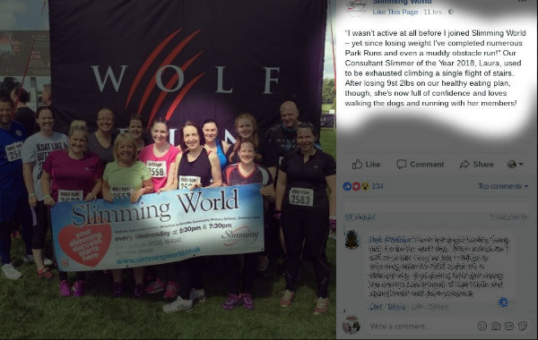 Laura and team at Wolf Run event